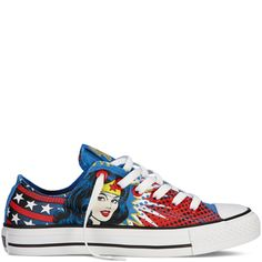 Wonder Woman converse shoes