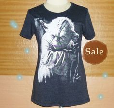 Image of Yoda shirt Star Wars tshirt loose fitting t shirt S M L XL XXL plus size over size shirts #shortsleeve #tee #shirt #yoda #starwars #streetwear #style #movie #tshirt #starwareshirt