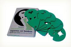 Juguemos con Sombras© de la línea Juguetes que Cuentan, Leyendas de mi Tierra de Oh! Pacha Juguetes Sostenibles®, distinguidos con el Sello de Buen Diseño 2013.