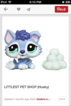 Sooooo cute even though I have this husky I want it again!!!
