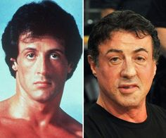 SYLVESTER SATALLONE-STAR OF ROCKY SERIES OF FILMS