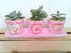 PINCELADAS-ARTESANÍAS DE COLOMBIA - Macetas Decoradas Flower Pots, Planter Pots, Vases, Decorated Flower Pots, Brush Strokes, Winged Eye, Colombia, Mud, Flower Vases