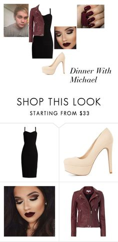 """Dinner With Michael"" by hey-mate ❤ liked on Polyvore featuring MaxMara, Charlotte Russe and IRO"