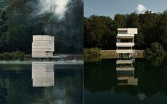 Hide From The World (And Your Enemies) In This Tower On The Lake By AFGH
