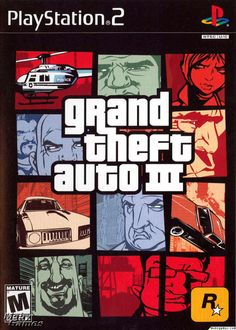 "Grand Theft Auto III... First ""mature"" rated game I ever played."