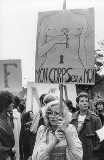 France. My body is mine, May 1968