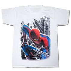 The Amazing Spiderman Movie T-Shirt - The Shirt List Spiderman Shirt, Spiderman Movie, Amazing Spiderman, Marvel Heroes, Marvel Comics, Movie T Shirts, Yesterday And Today, Superhero, Mens Tops