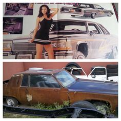 Wife's Enemy Lowrider Car Pics, Car Pictures, Damaged Cars, Rusty Cars, Low Rider, Car Crash, Cars And Motorcycles, Nice