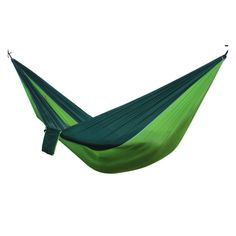 Garten Hängematte 2 Person Leichte Hang Bett Outdoor Camping Swing Blue