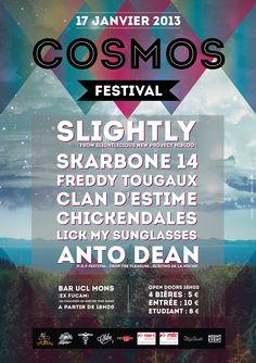 Affiche Cosmos Festival  Flyer