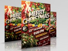 design Christmas Flyers and posters within 15 hours by designerhd02