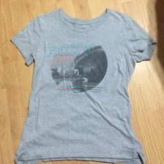Roxy t shirt Gray Roxy t shirt, keep it classic and logo on front. Worn once. Make an offer. Roxy Tops Tees - Short Sleeve
