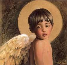 Beautiful little boy angel (like my boys). nancy noel