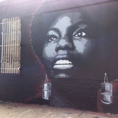 The Bushwick Collective- Nina Simone by Damien Mitchell