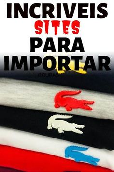 Camisa para revender Melhores marcas do mercado [VEJA]