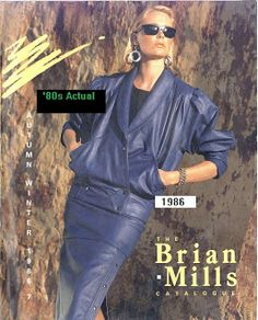 '80s Actual: 1980s fashions love this outfit.