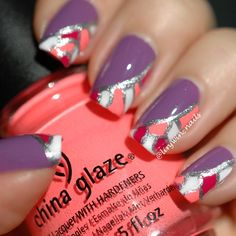 Stained Glass – Video Tutorial - Nail Art by Lindsay