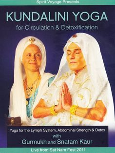 Gurmukh and Snatam Kaur come together again to teach this engaging Kundalini Yoga and meditation class accompanied by incredible live music by Snatam Kaur, Thomas Barquee and Ramesh Kannan. This DVD contains a yoga class to for the lymph system, improving Kundalini Yoga, Yoga For Beginners, Movie Tv, Health Fitness, Spirit, Lifestyle, Amazon, Fashion, Yoga For Complete Beginners