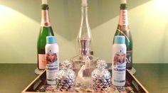 Trockenshampoo und Champagner, ein Dream Team <3 Bottle, Home Decor, Champagne, Homemade Home Decor, Flask, Decoration Home, Jars, Interior Decorating