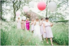 bride and balloons jessica reeve photography lake district wedding photographer askham hall wedding photography_2296