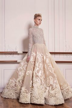 Saiid Kobeisy - S/S 2017 Couture Collection - WedLuxe Magazine Couture Wedding Gowns, Luxury Wedding Dress, Couture Dresses, Bridal Dresses, Fashion Dresses, Style Couture, Couture Fashion, Fashion Menswear, Gothic Fashion