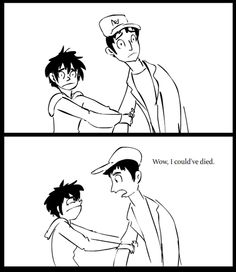 YEAH NO KIDDING/////Hiro hold on and NEVER let go!!!!!