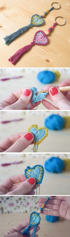 A lot of times we are too busy crocheting some really complicated stuff. It is true that crochet lovers time to time tend not to finish their started projects. Some of these sophisticated project require too much time, yarn and energy. It is always a good idea to crochet a simple stuff from time to… Read More Crochet Heart Keychain Tutorial