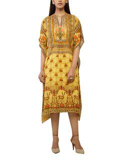 Indian Fashion Designers - Anita Dongre - Contemporary Indian Designer - The Kerria Kaftan - AD-SS17-PH-1-SS17MB051