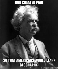 Gotta love Mark Twain.