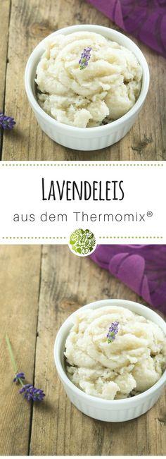 Das leckerste Lavendeleis aus TM5®️ und TM31. Die leckersten Thermomix®️ Eis Rezepte gibt es hier. Im MIXELITE EIS & MEHR Rezeptheft von will-mixen.de. #thermomix #willmixen #eis
