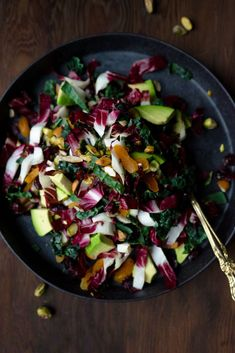 Winter Kale Salad /
