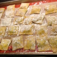 Homemade Ravioli with Ricotta Cheese and Spinach Filling Recipe on Food52 recipe on Food52