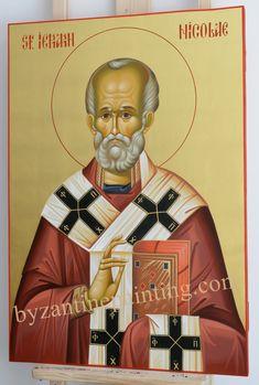 Saint Nicholas -byzantine icon
