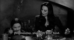 They're a dope couple AND great parents. Gomez And Morticia Addams Have The Best Marriage Ever Morticia Addams, Gomez And Morticia, Wednesday Addams, Tv Quotes, Movie Quotes, Movie Photo, Movie Tv, Lito Rodriguez, Die Addams Family