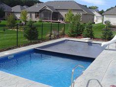 Minneapolis, MN - Liner Replacement, New Automatic Cover & Fence - Swimming Pool Restoration & Repair Portfolio   Penguin Pools