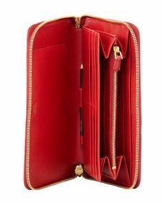 burgundy pradas men - Tumi Villa - Zip Around Travel Wallet   Wallet Ideas   Pinterest ...