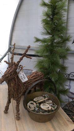Reindeer, pine trees... Ahhh Christmas