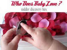 Valentine's Day Toddler Discovery Box