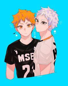 Haikyuu Ships, Haikyuu Fanart, Haikyuu Anime, Hinata Shouyou, Sendai, Anime Angel, Shounen Ai, Cartoon Characters, Anime Guys