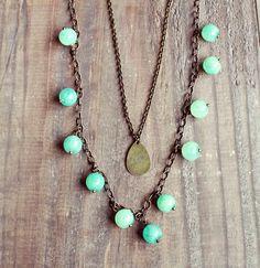 Christina. layered necklaces |Lemon Kissed