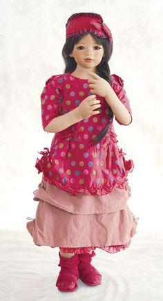 """""""Anna Lu""""   love  Annette Himstedt dolls"""