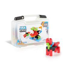Guidecraft IO Blocks™ 59 Piece Travel Set - G9604