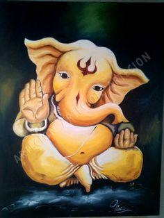 Clay Ganesha, Ganesha Art, Shri Ganesh, Durga, Ganesha Drawing, Lord Ganesha Paintings, Ganesha Pictures, Ganesh Images, Indian Gods