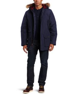 Woolrich Mens Artic Parka Deep Navy Medium >>> Check this awesome product by going to the link at the image. (This is an affiliate link)