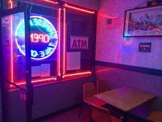 NEON-NOIR & RETROFUTURE — sleazeburger:   Chinese Restaurant in Brooklyn