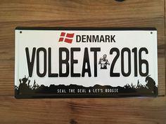 "Ebay ""Deals"" Volbeat Blech Schild ""Seal The Deal and Let's Boogie"" (Rarität) NEU: EUR 19,00 (0 Gebote) Angebotsende:…%#Quickberater%"