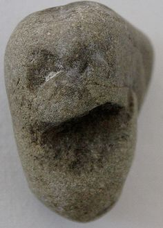 Portable rock art and figure stones from Portable Rock Art Museum. North America's hidden prehistoric past revealed.