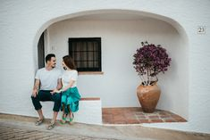 Cristina & Fabian // #savethedate #engagement #love #spain #couplegoals #photoshootideas #boyandgirl Golden Hour, Spain, Portraits, Engagement, Face, People, Pictures, Style, Fashion