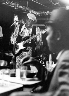 Buddy Guy performs live in Chicago,  1971