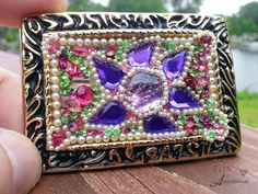 Check out this item in my Etsy shop https://www.etsy.com/listing/233557835/womens-belt-buckle-christmas-gift-purple